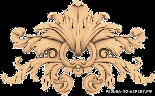 Резной Декор №1146 из дерева