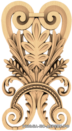 Резной Декор №1066 из дерева