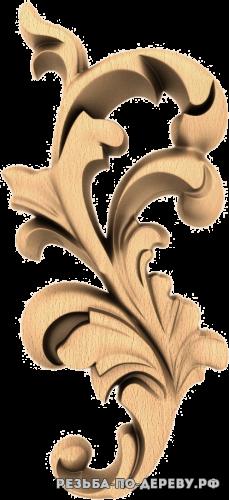 Резной Декор №1058 из дерева