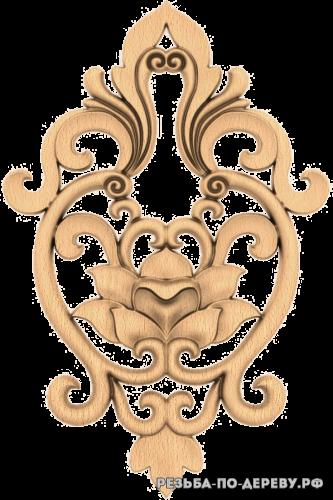 Резной Декор №1198 из дерева