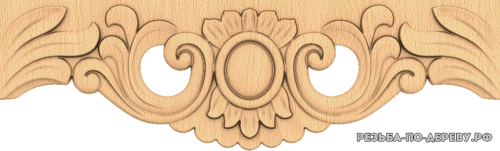 Резной Декор №1188 из дерева