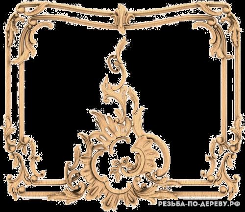 Резной Декор №869 из дерева