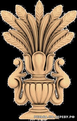 Резной Декор №960 из дерева