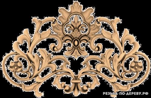 Резной Декор №1180 из дерева