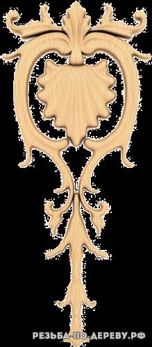 Резной Декор №930 из дерева