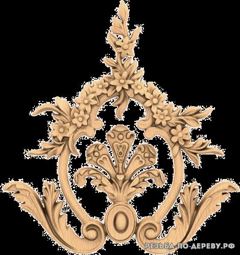 Резной Декор №1080 из дерева