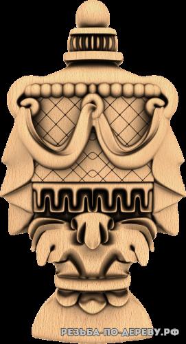 Резной Декор №1020 из дерева