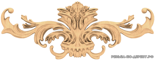 Резной Декор №821 из дерева