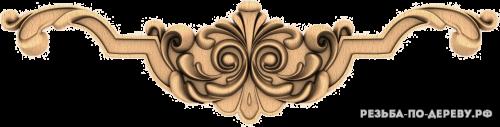 Резной Декор №952 из дерева