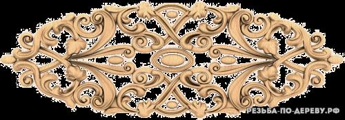 Резной Декор №953 из дерева