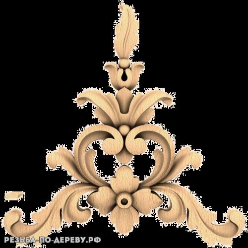 Резной Декор (1733) из дерева