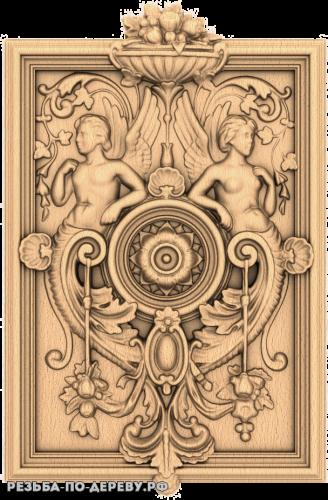 Резной Декор (1737) из дерева