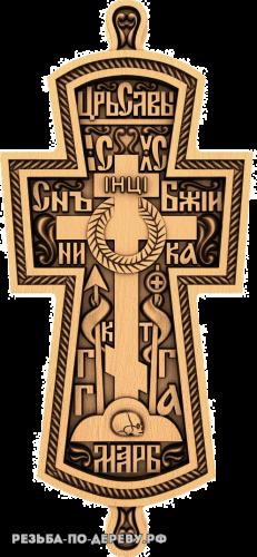 Крест №31 из дерева