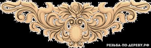 Резной декор (1434) из дерева