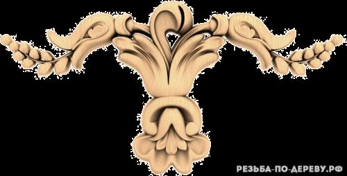 Резной декор (1462) из дерева