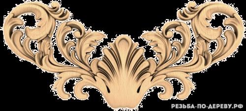 Резной декор (1545) из дерева