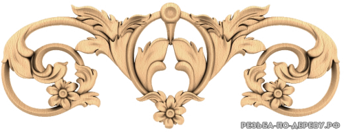 Резной декор (1558) из дерева