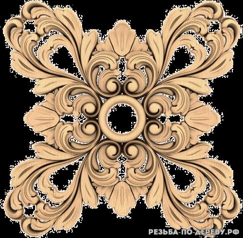 Резной декор (1576) из дерева