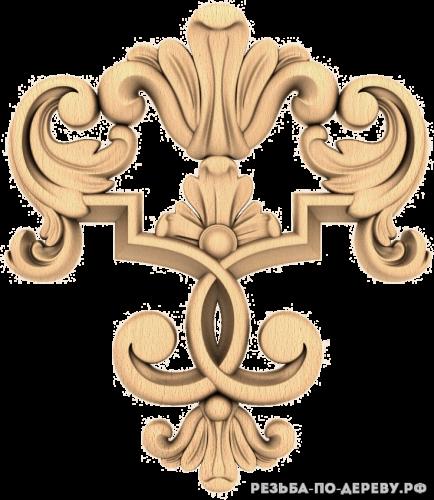 Резной декор (1611) из дерева