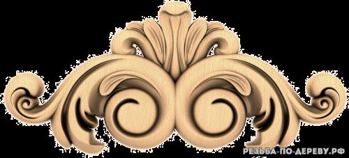 Резной декор (1613) из дерева