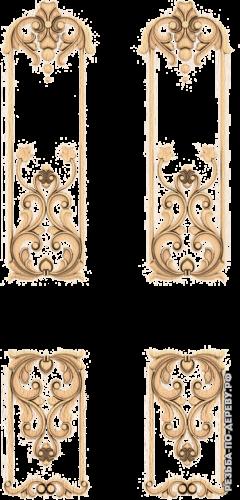 Резная дверь (200)