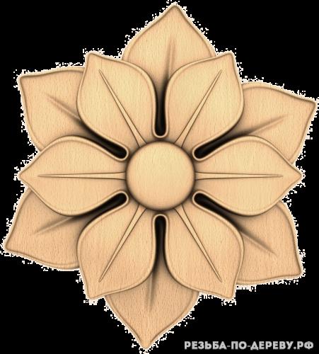 Розетка (714) из дерева