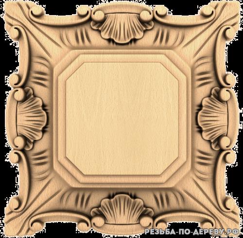 Розетка (715) из дерева