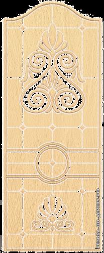 Резная дверь (209)