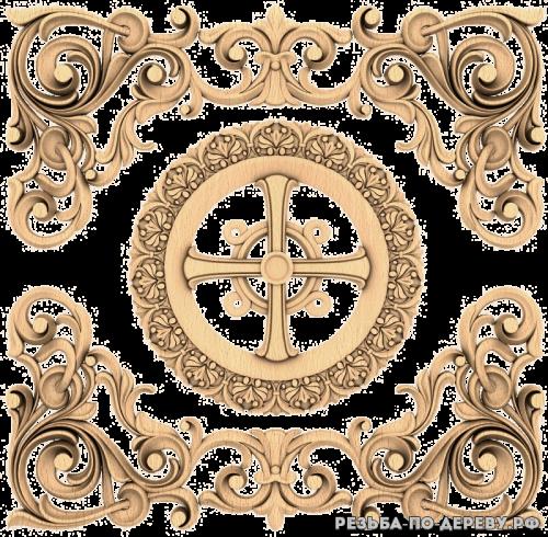 Крест (57) из дерева