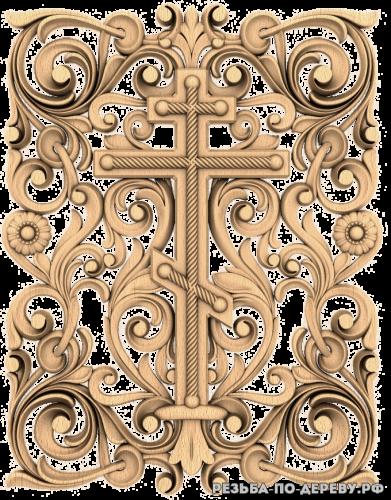 Крест (58) из дерева