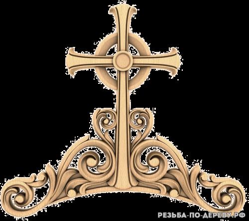 Крест (68) из дерева