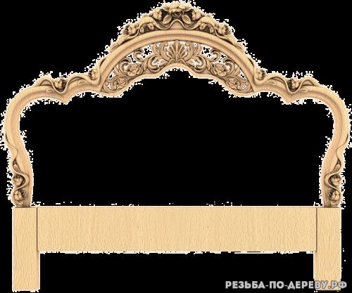 Декоративная спинка кровати (31) из дерева