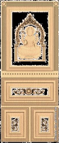 Резная дверь (232)