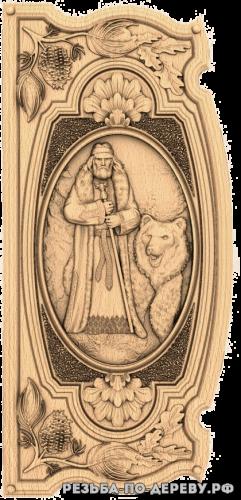 Резное панно Велес (4 серия) из дерева