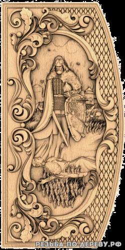 Резное панно Коловрат (5 серия) из дерева