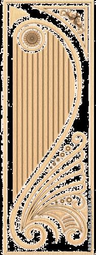 Резная дверь (101)