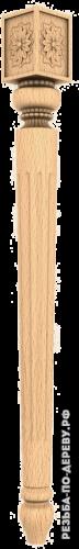 Резная балясина (344) из дерева