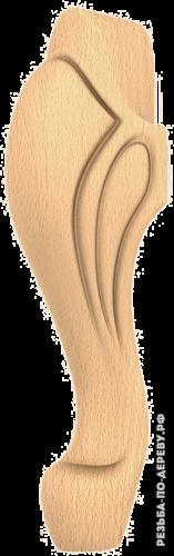 Резная балясина (361) из дерева