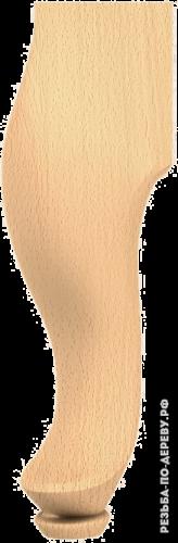 Резная балясина (389) из дерева