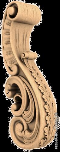 Резная балясина (404) из дерева