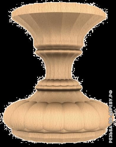 Резная балясина (405) из дерева
