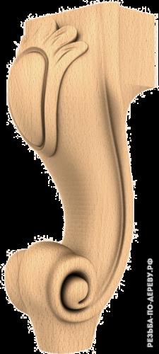 Резная балясина (409) из дерева
