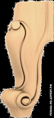 Резная балясина (445) из дерева