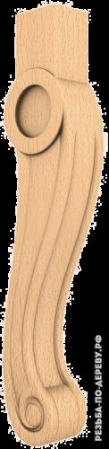 Резная балясина (446) из дерева