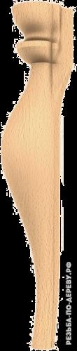 Резная балясина (469) из дерева