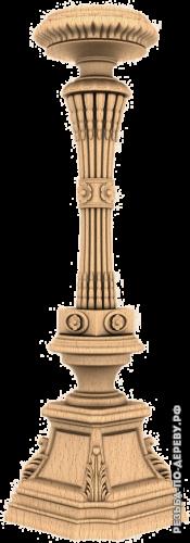 Резная балясина (483) из дерева