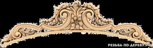 Резной декор (1352) из дерева