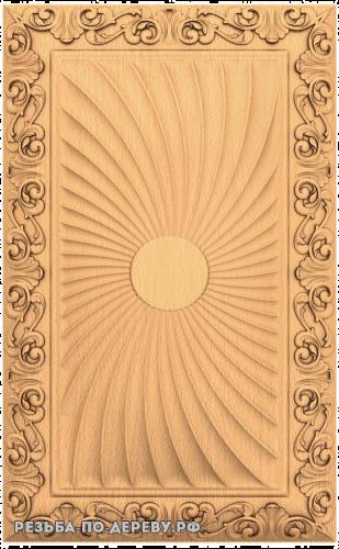 Панель №51 из дерева