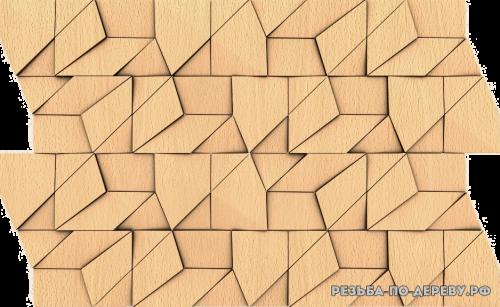 Панель №103 из дерева