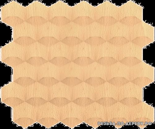 Панель №94 из дерева
